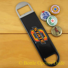 Oklahoma State Cowboys SPEED, BAR BLADE Bottle Opener Vinyl Coated Steel OSU NCAA