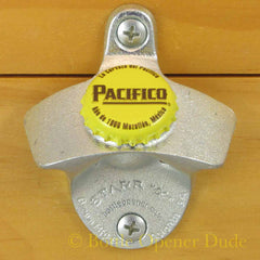 PACIFICO CLARA Bottle Cap Starr X Wall Mount Bottle Opener Mexican Beer
