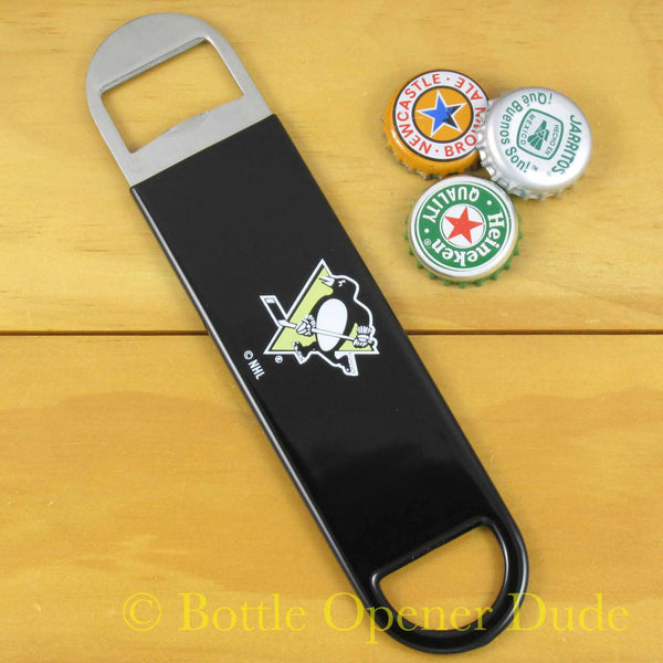 Pittsburgh Penguins Bar Blade Bottle Opener