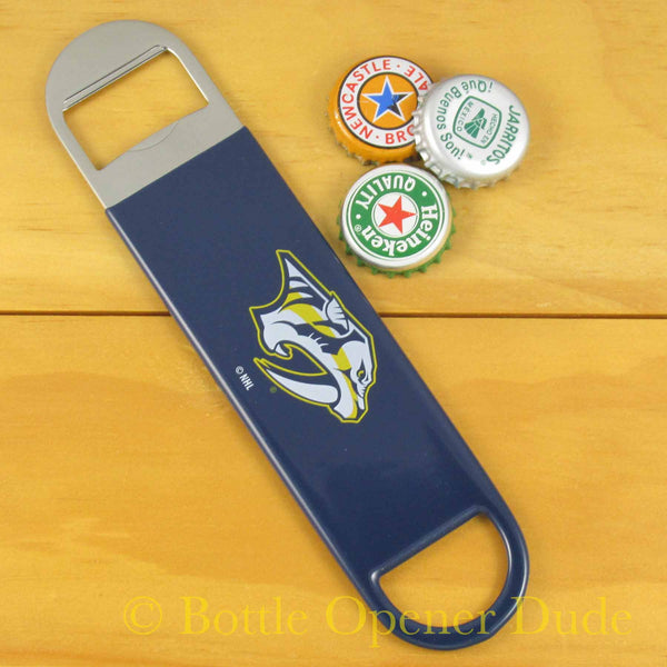 Nashville Predators Bar Blade Bottle Opener