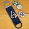 St. Louis Rams SPEED, BAR BLADE Bottle Opener Vinyl Coated Steel NFL