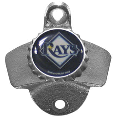 TAMPA BAY RAYS Wall Mount Stationary Bottle Opener MLB