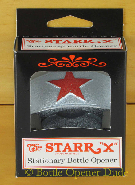 Embossed Red Star Beer Starr X Wall Mount Stationary
