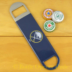 Buffalo Sabres SPEED, BAR BLADE Bottle Opener Vinyl Coated Steel NHL