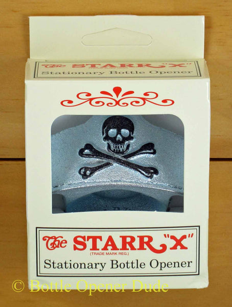 embossed skull and bones pirate starr x wall mount bottle opener class bottle opener dude. Black Bedroom Furniture Sets. Home Design Ideas