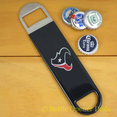 Houston Texans SPEED, BAR BLADE Bottle Opener Vinyl Coated Steel NFL