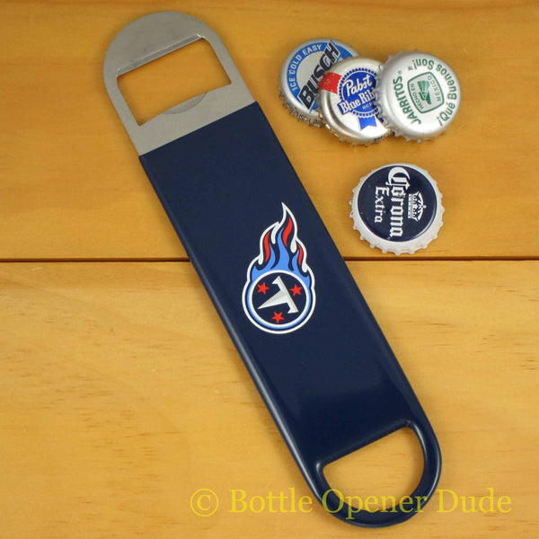 Tennessee Titans SPEED, BAR BLADE Bottle Opener Vinyl Coated Steel NFL