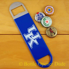 Kentucky Wildcats UK SPEED, BAR BLADE Bottle Opener Vinyl Coated Steel NCAA
