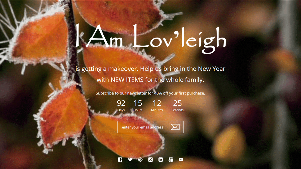 Welcome to IAmLovleigh.com
