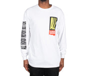 Shred LS Tee WHT