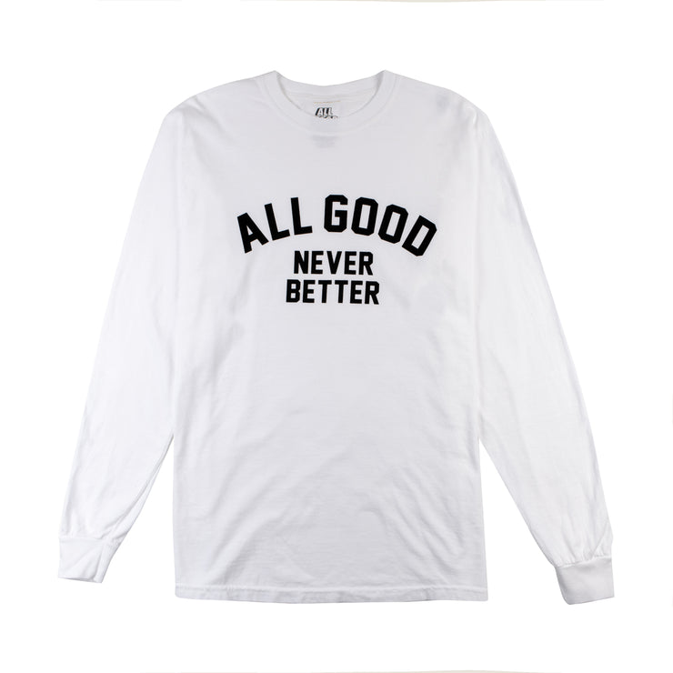 AGNB Long Sleeve White