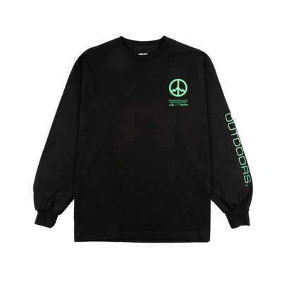 All Good Inner Peace Outdoors Longsleeve T-shirt - Black