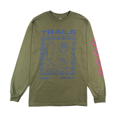 TRAILS Long Sleeve T Shirt