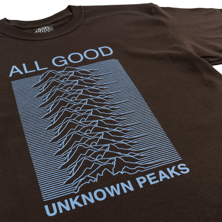Unknown Peaks Tee (Chocolate Brown)