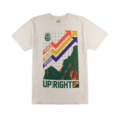 All Good Up/Right T-Shirt - Ivory