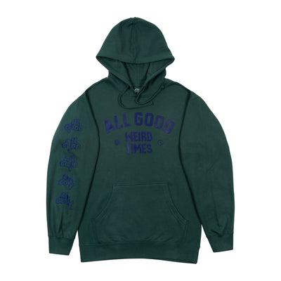 All Good Weird Times Hoodie - Spruce