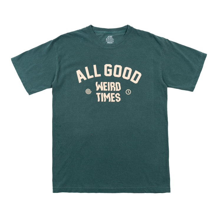 All Good Weird Times T-Shirt - Blue Spruce