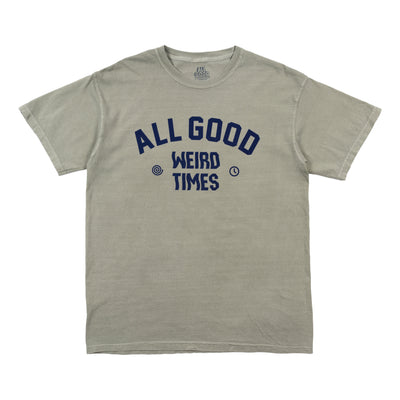 All Good Weird Times T-Shirt - Sandstone