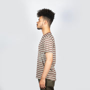 Icy Striped Cut Tee
