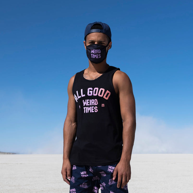 All Good Weird Times Tank Top - Black