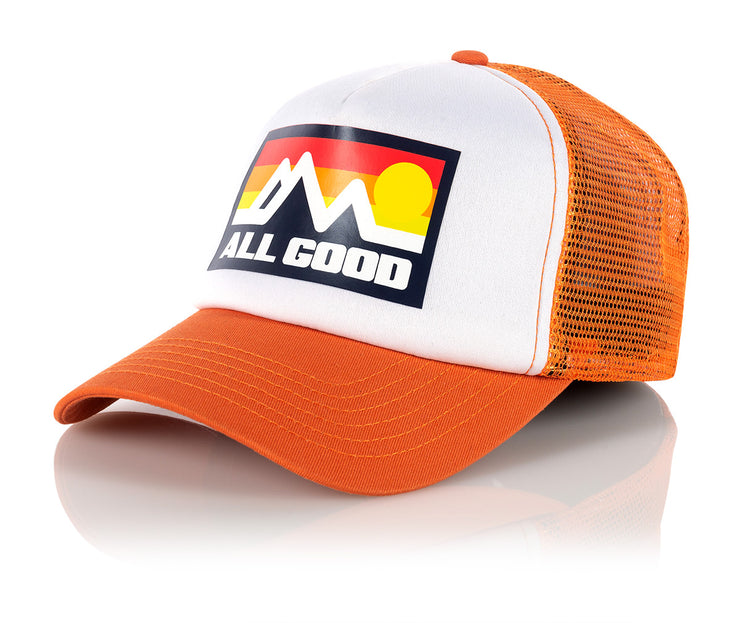 Orange Horizon Trucker