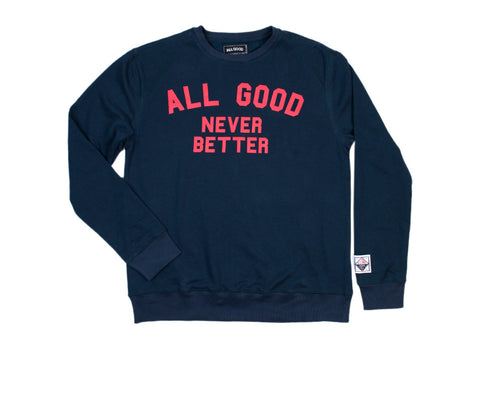 Never Better Raglan