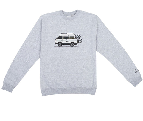 Westfalyeah Hightop Crew Sweatshirt