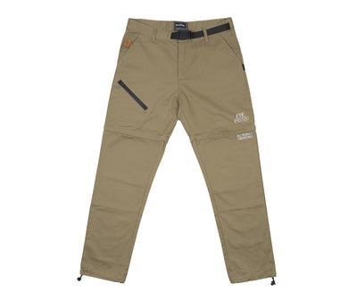 Khaki Caving Zip Off Pant