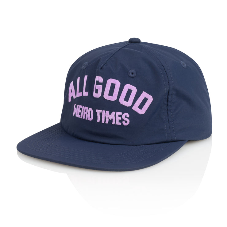Weird Times 5 Panel Snapback Hat