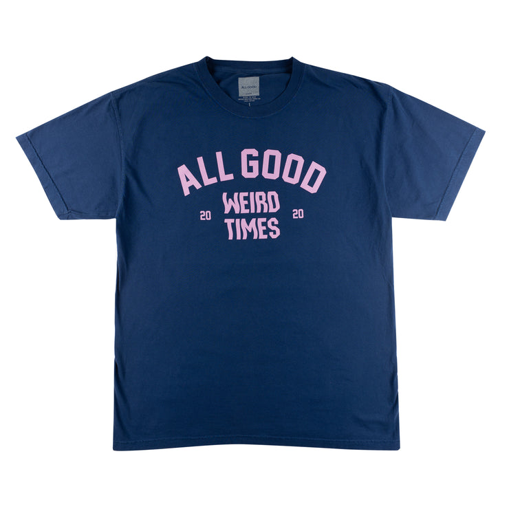 All Good Weird Times T-Shirt - Navy