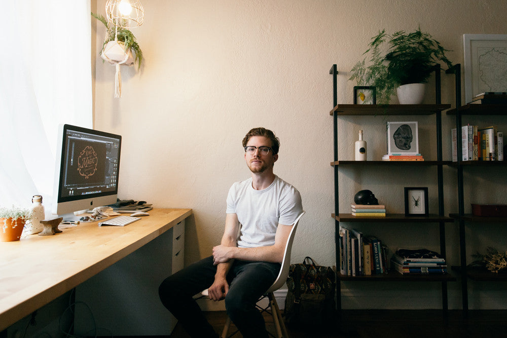 Find What You Love And Let It Kill You :: Meet David M. Smith, Graphic Designer by Brian Sin