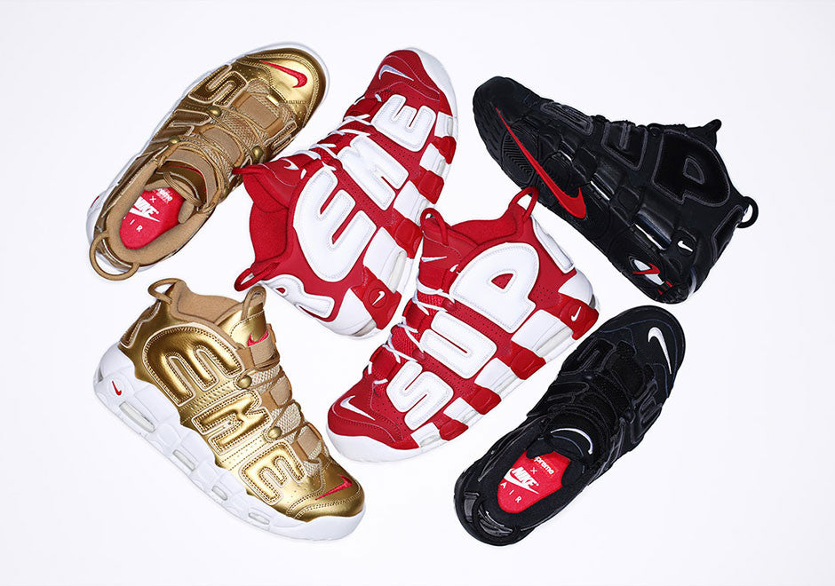 All Aboard The Hype Train: The Supreme x Nike Air More Uptempo Drops This Thursday