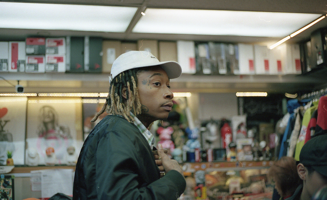 Wiz Khalifa shopping at Unique Hype Collection