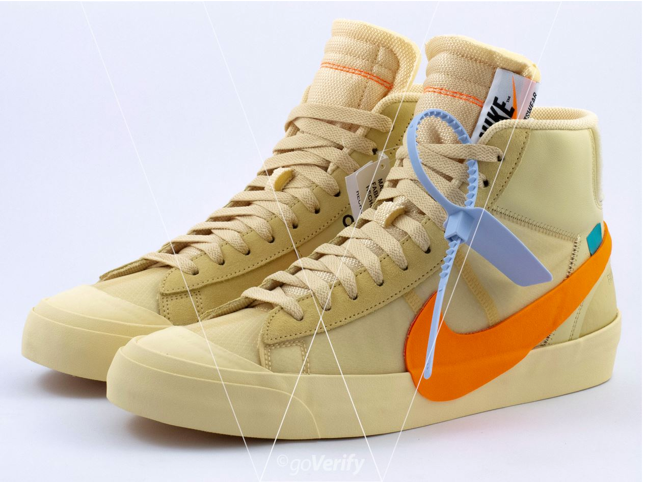 off white nike blazer legit check