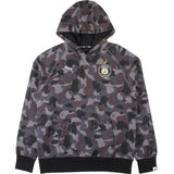 A Bathing Ape X Puma Camo Hooded Sweatshirt Black