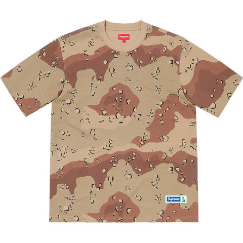 Supreme Athletic Label Tee Chocolate Chip Camo