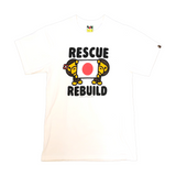 A Bathing Ape Rescue and Rebuild Charity Tee White