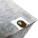 A Bathing Ape Striped Camo Tee Grey