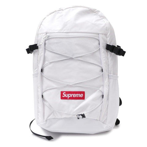 Supreme Backpack (FW17) White