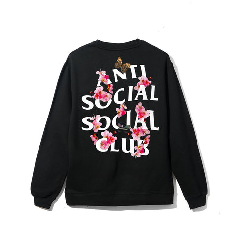 Anti Social Social Club Kkoch Crewneck Black