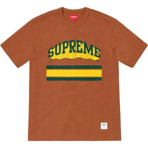 Supreme Cloud Arc Tee Brown