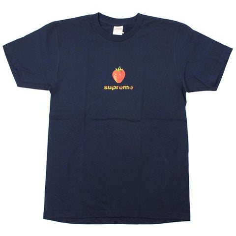 Supreme Strawberry Tee Navy