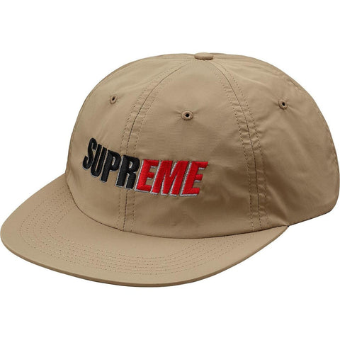 Supreme 2-Tone Nylon 6-Panel Tan