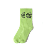 Anti Social Social Club Socks Green