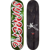 Supreme Lee Quinones Lee Logo Skateboard Red
