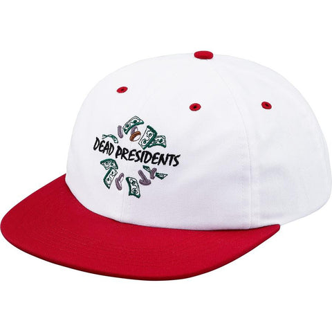 Supreme Dead Presidents 6-Panel Red
