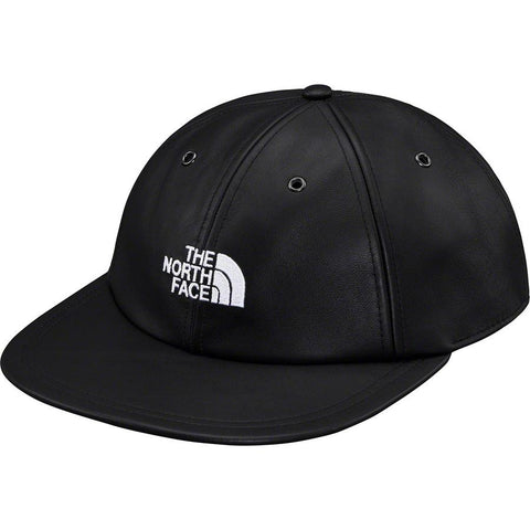 Supreme The North Face Leather 6-Panel Black