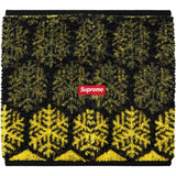 Supreme Snowflake Neck Gaiter Yellow