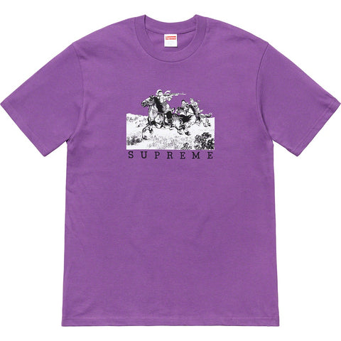 Supreme Riders Tee Purple