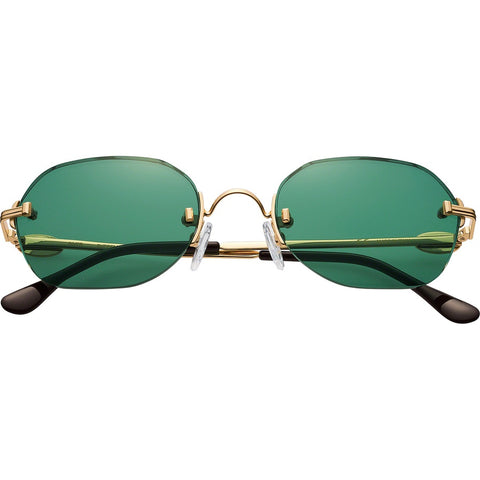 Supreme River Sunglasses Green